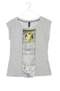 MARC CAIN - shirt mit leo-print - XS