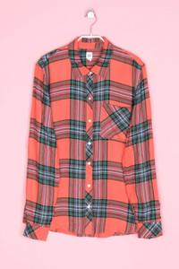 GAP - hemd-bluse mit karo-muster - L