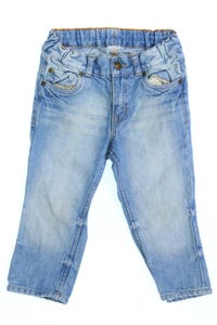 H&M &denim - jeans im used look - 80