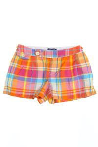 RALPH LAUREN - shorts aus baumwolle mit karo-muster - 140