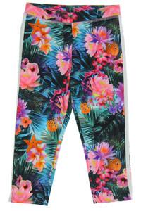 H&M - leggings mit floralem muster - 122