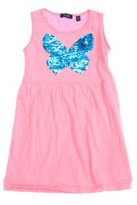 blue seven - kleid mit wende-pailletten - 104