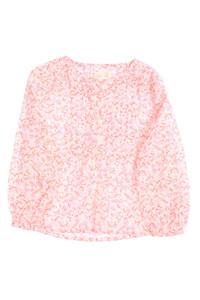 ZY - tunika-bluse mit blumen-print - 104
