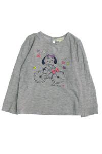 Fagottino - print-t-shirt mit raffungen - 86