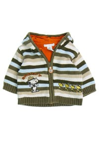 H&M - zipper-cardigan mit stickereien - 62