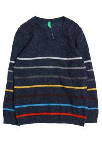 UNITED COLORS OF BENETTON - streifen-pullover aus woll-mix mit seide - 104