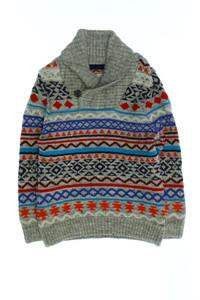 H&M LOGG - baumwoll-pullover mit intarsia knit-muster - 110
