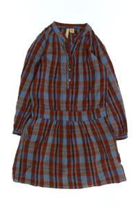 Bellerose - karo-kleid mit raffungen - 146