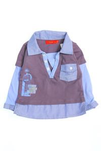 Tissaia - t-shirt im layer look - 86