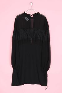 MANGO SUIT - kleid mit spitzen-einsatz - L