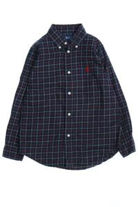 RALPH LAUREN - karo-hemd mit logo-stickerei - 116