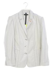 TOM CROWN - streifen-blazer mit logo-knöpfen - D 44