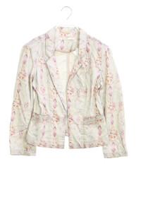 NILE atelier - garment dyed-blazer mit print - XS