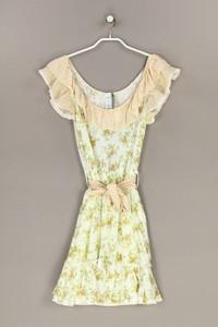 MANGO COLLECTION - kleid mit blumen-print - M