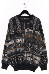 WESTBURY by C&A - strick-rundhals-pullover mit alpaka - 52