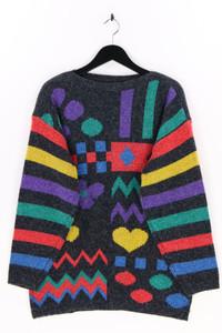 BROADWAY - strick-pullover mit intarsia knit-muster - XXL