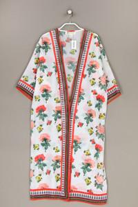 H&M COACHELLA - long-cardigan mit floralem muster - XS