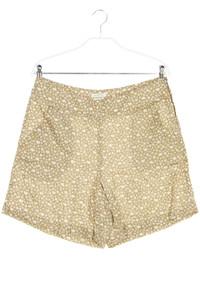 STILE BENETTON - leinen-shorts mit print - L