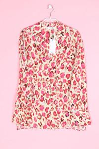 MANGO - bluse mit floralem muster - S