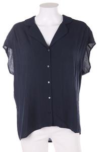MANGO CASUAL - bluse mit raffungen - L