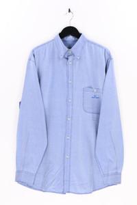 ARMANI JEANS - jeans-hemd mit logo-stickerei - 54