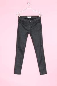 MANGO - coated skinny-jeans mit stretch - D 36