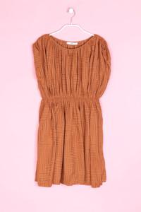 MANGO SUIT - muster-kleid mit raffungen - XS