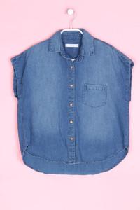 MANGO DENIM & TEES - jeans-bluse - S