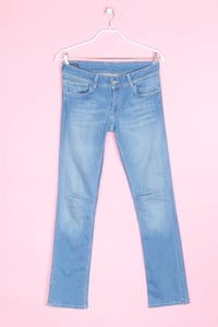 Pepe Jeans - used look straight cut jeans mit stretch - L