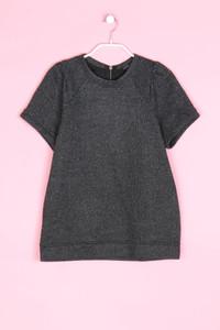 MANGO CASUAL SPORTSWEAR - kurzarm-shirt mit metallic-effekt - S