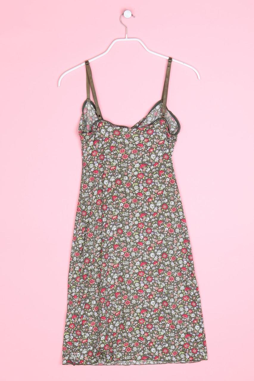 KOOKAI Kleid Träger Blumen Print 1 = D 36 multicolor | eBay