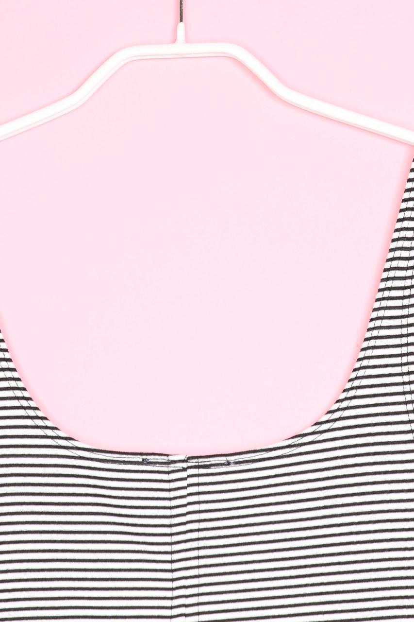 ZARA TRF Kleid Streifen M schwarz-weiß #8631   eBay
