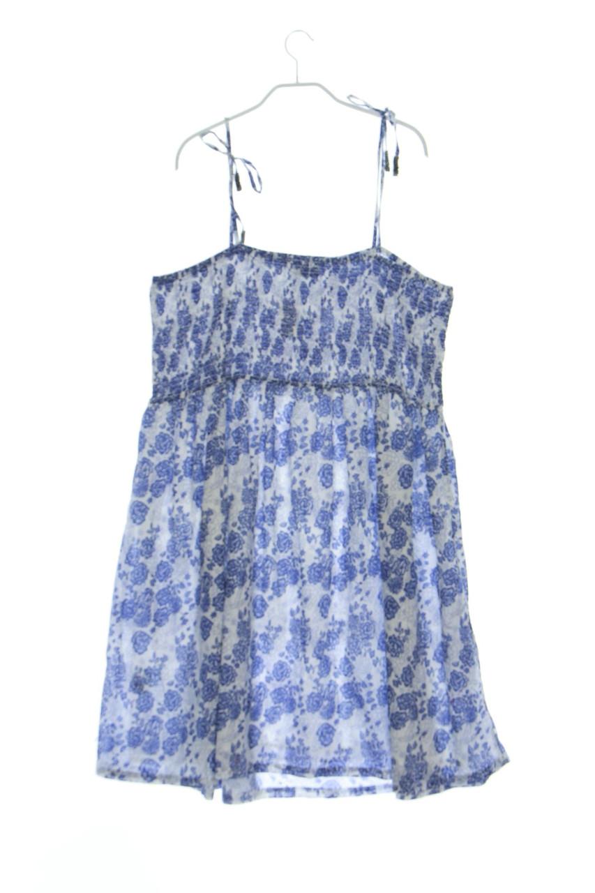 C&a Robe Fleurs Print XL Bleu-Sons | eBay