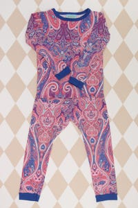 booboo BedHead - stretch- kombination  mit paisley-print - 104
