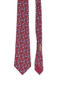 HERMÈS PARIS - seiden-krawatte aus seide mit print -
