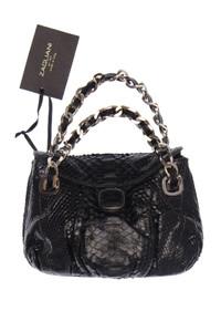 ZAGLIANI - vintage-luxus-umhänge-tasche aus leder -