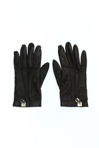 BALLY - handschuhe aus echtem leder mit logo-applikation -