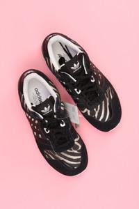 adidas - low-top sneakers mit animal-print -