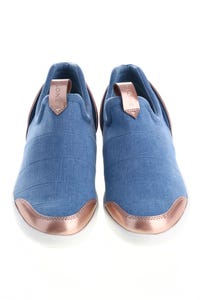 CLONE - low-top sneakers in denim-optik -