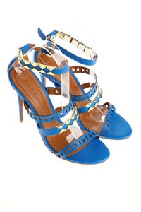 CARRANO - sandaletten mit schmuckstein-applikation -