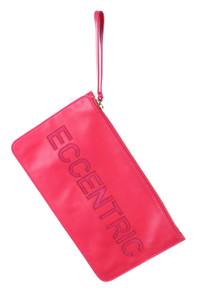 RED VALENTINO - clutch-tasche mit logo-prägung -