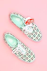 vans - low-top sneakers mit print -