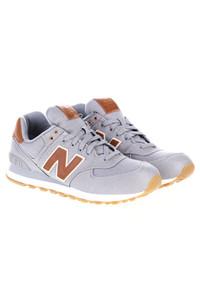 New Balance - low-top sneakers mit leder-details -