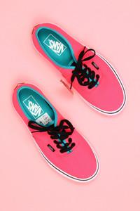 vans - neon-low-top sneakers -