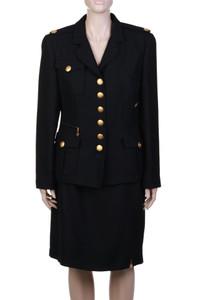 RENA LANGE - Kostüm mit Wolle - M