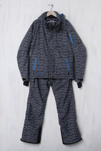 K-TEC - Ski-Anzug mit Logo-Patch - M