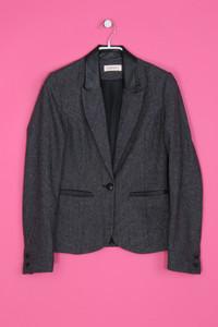 Camaïeu - Blazer-Jacke mit Wolle - S
