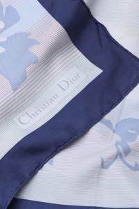 Christian Dior - Vintage-Seidentuch mit Print
