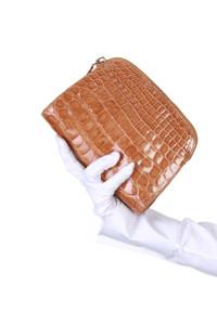 PRADA - Kroko-Clutch-Tasche