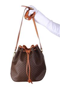 CÉLINE - Bucket Bag/Beutel-Tasche mit Print